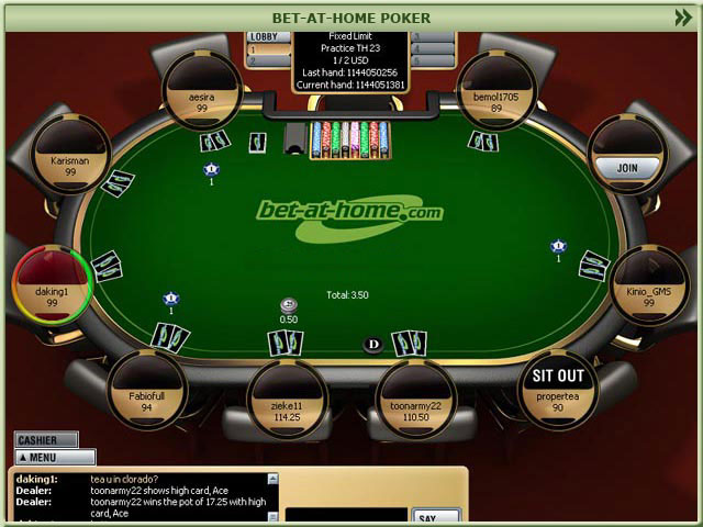 bet at home poker test gutes spielangebot und bis zu 1. Black Bedroom Furniture Sets. Home Design Ideas