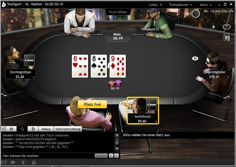 Bwin Poker Punkte
